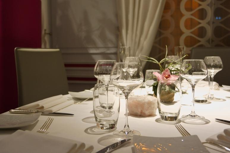 Table à l'Auberge du Cheval Blanc - Westhalten (68)