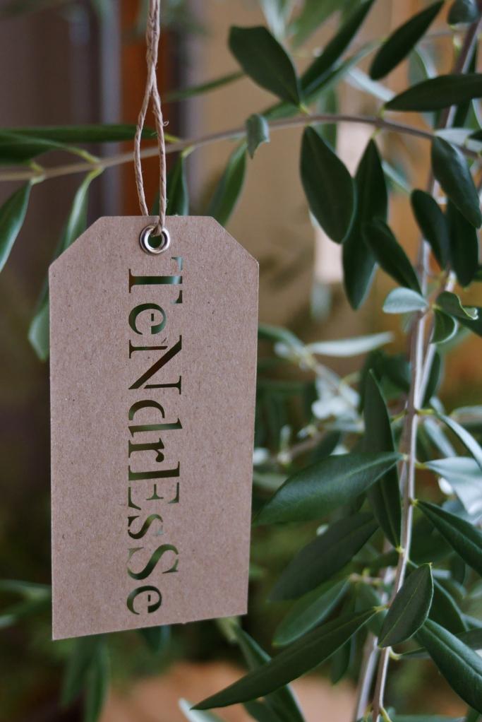 Mon olivier étiqueté
