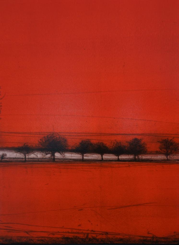 DSC09142 (Paysage rouge - 90 X 34 - Francis Hungler)